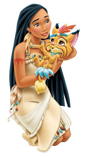Pocahontas (1995)  É discutível se ser a filha de um chefe indígena qualifica Pocahontas como parte da realeza, mas se isso acontecer, Pocahontas é a primeira princesa da Disney na América do Norte...