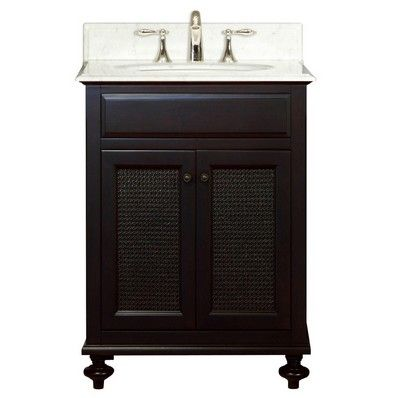 24 inch bathroom vanity with sink combo water creation london 24