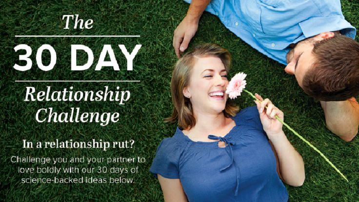 Stuck in a relationship low? Check this 30-day challenge out!