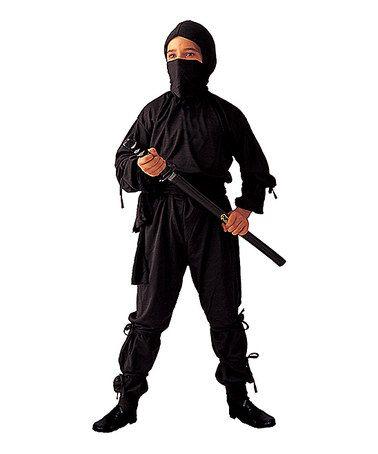 Love this Black Immortal Ninja Dress-Up Set - Kids by RG Costumes on #zulily! #zulilyfinds