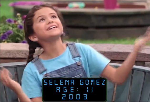Image result for selena gomez age 11