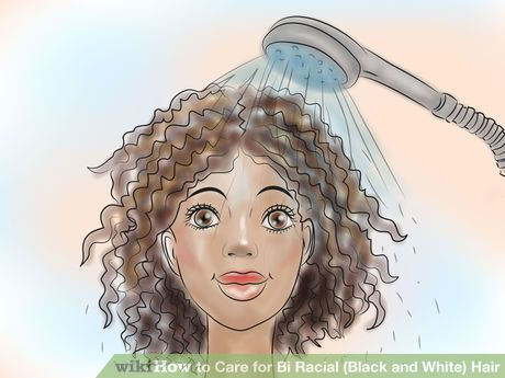 Image titled Care for Bi Racial (Black and White) Hair Step 2