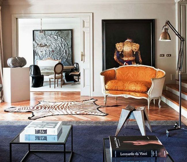 Eclectic and interesting mix of old and new in barcelona interior designtv antiques · eclectic styleeclectic decorfunky