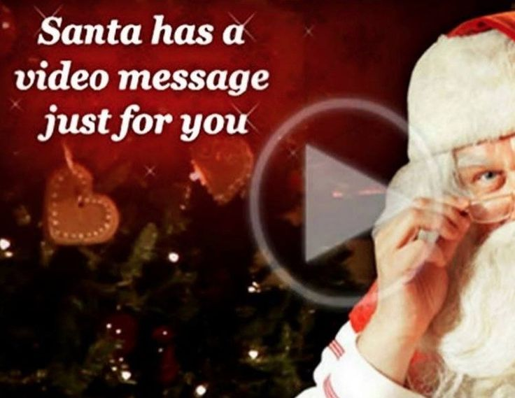 Make a personalised Video Message from Santa for FREE!  This will add real magic to your Christmas!
