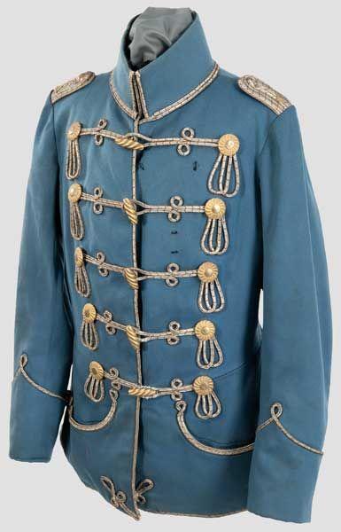 Prusia 12º Húsares Thüringisches Teniente