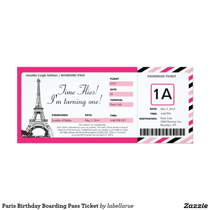 Best Boarding Pass Images On   Boarding Pass
