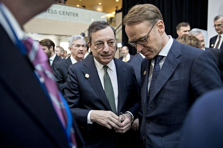 Weidmann Signals Openness to Succeeding Draghi as ECB