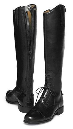 Ariat boots. Not only would I wear these beauties horseback riding but I would wear them ALL the time.