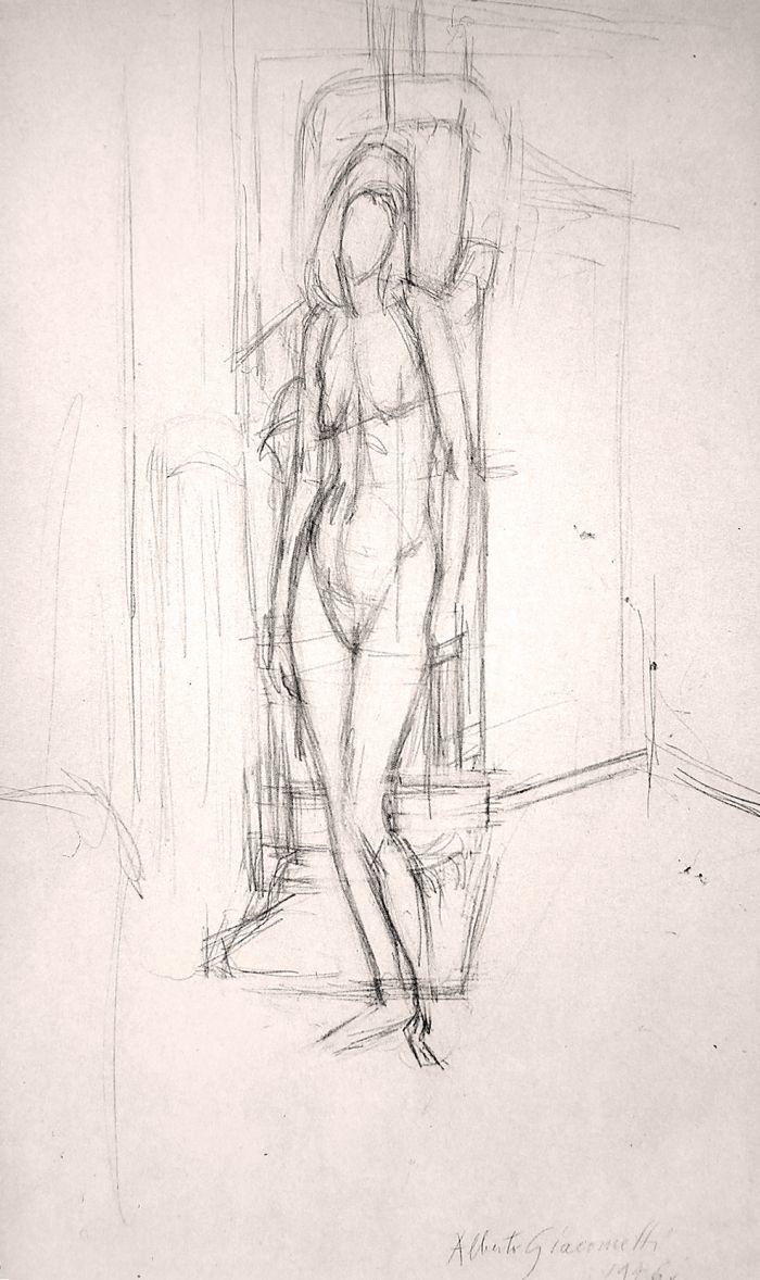 Giacometti Drawings   the F U T U R E L A B