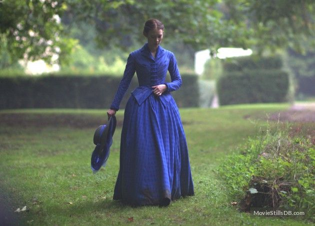 Madame Bovary (2014) adaptation of Gustave Flaubert's novel, directed by Sophie Barthes, #CostumeDesign by Christian Gasc & Valérie Ranchoux. Starring Mia Wasikowska