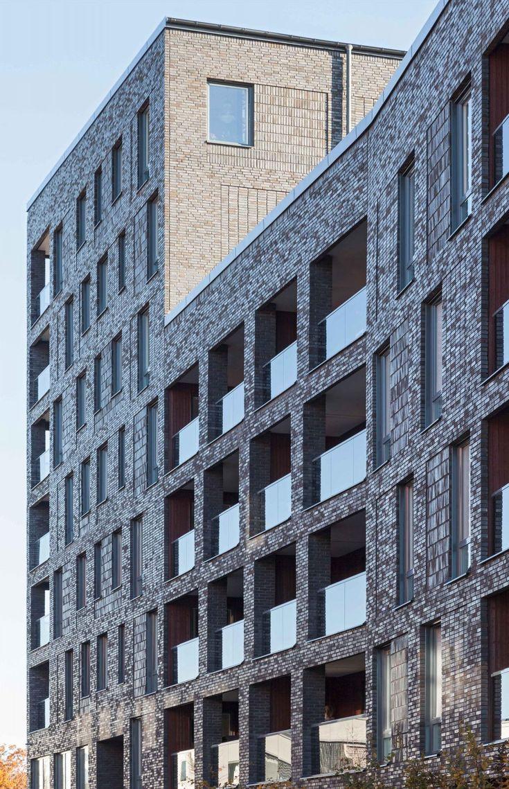 Kjellander Sjöberg - Maja Gräddnos - Brick facade