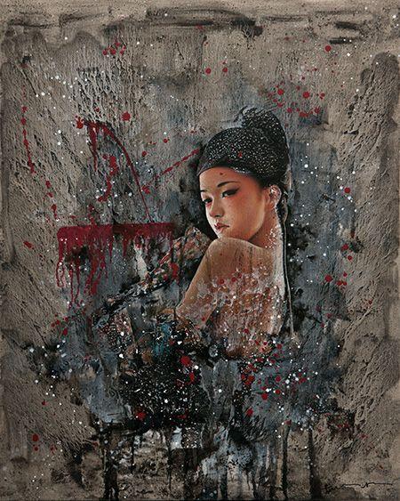 BLACK CLOTH No. 9, Chang Lei - 2013