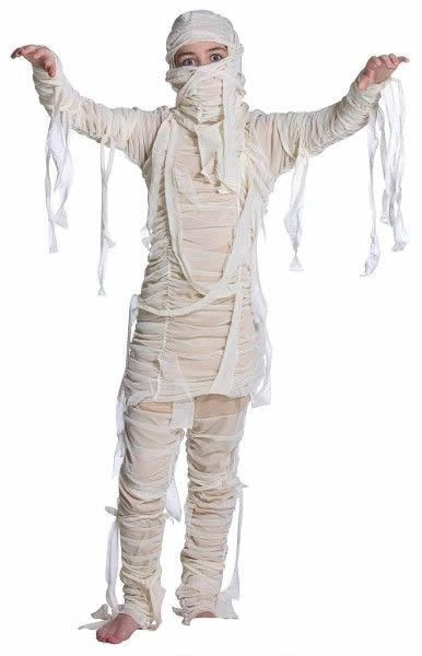disfraz momia halloween