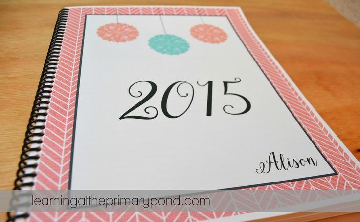 My homemade planner free printable calendar and for Create your own planner online