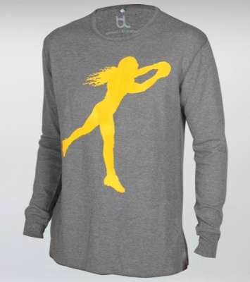 Troy Polamalu Official Playmaker Icon Waffle Thermal from Brand Legendary is one of Troy's favorite Playmaker Icon Collection items.