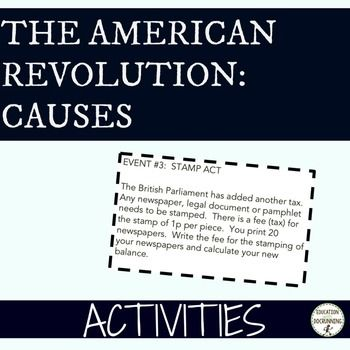 an examination of the major cause of the american revolution Common cause: creating race and nation in the american revolution  from  the beginning, patriot publicists defined the war against great britain  common  cause also provides a powerful basis for examining both issues in new ways.