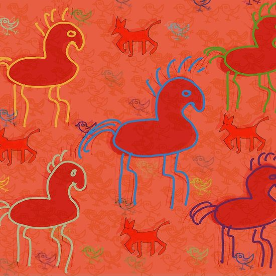 HORSES GALLOP BY ART AND SOUL MAMMA