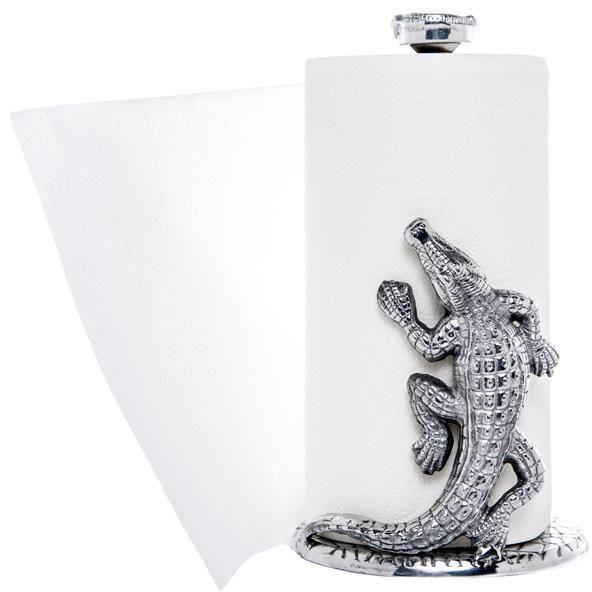 Arthur Court - Alligator Paper Towel Holder