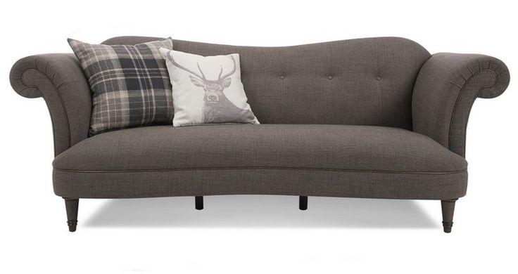 Moray: 4 Seater Sofa | Living room sofa design, Living ...