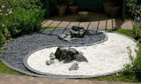 Les 25 meilleures id es de la cat gorie jardin zen for Jardin yin yang