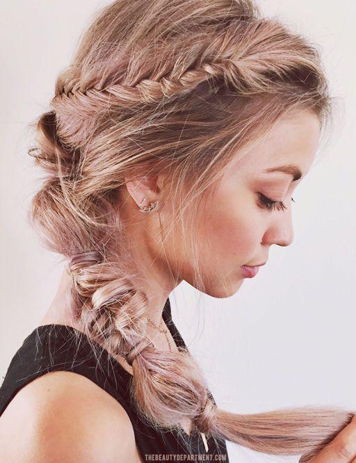 lavender-rose coloured hair (DIY)