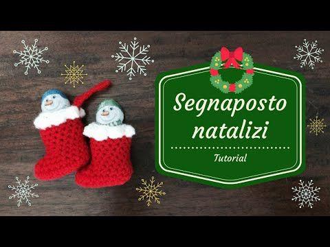 Diy Natale - Alberelli all'uncinetto veloci da fare! - YouTube