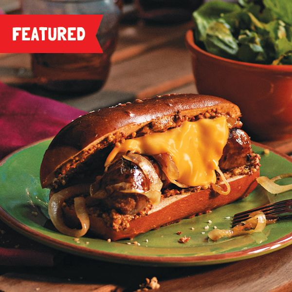 Give your brats an extra oomph of ooey gooey with this Singles Best Grilled Bratwurst.