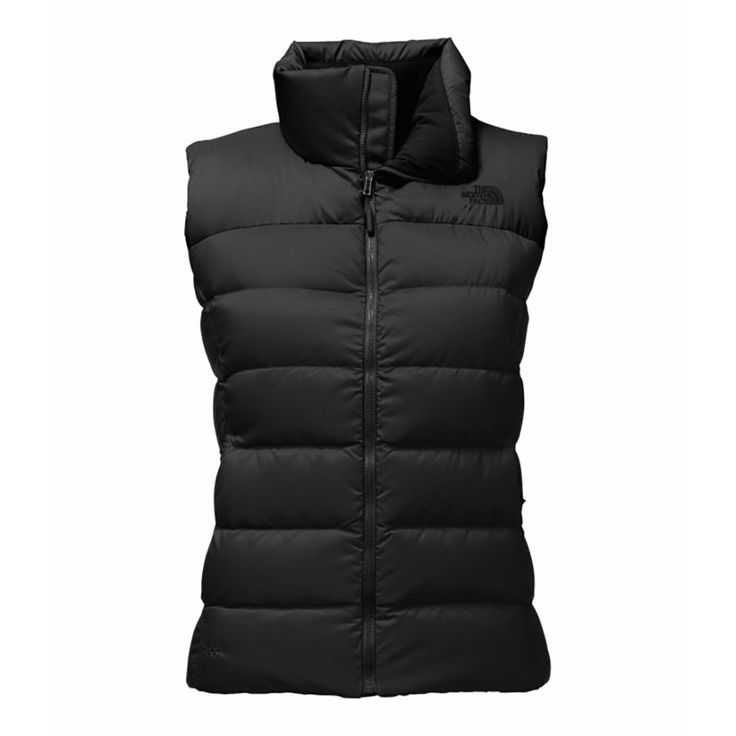 The North Face Womens Vest Nupste size L in black
