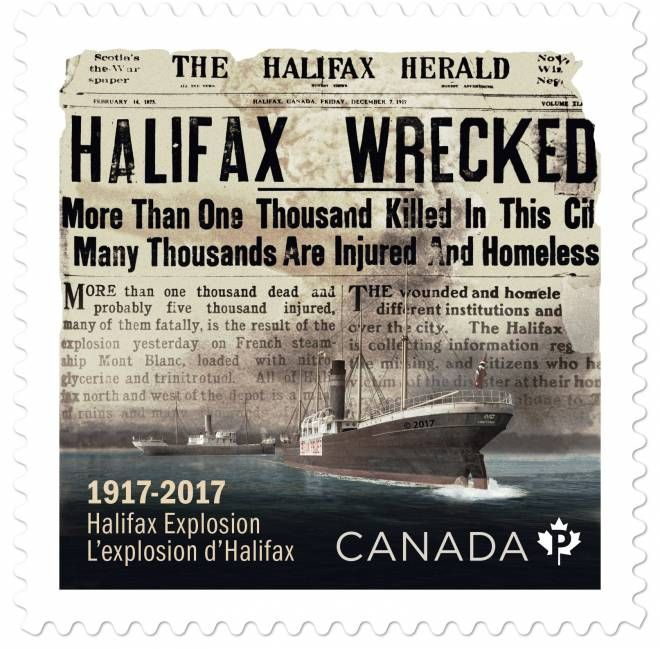 New stamp commemorates Halifax Explosion | The Chronicle Herald