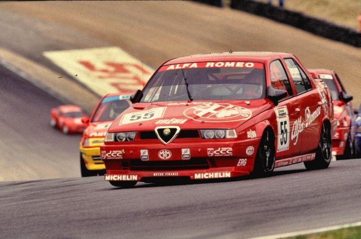 Gabriele Tarquini Alfa Btcc Touring Car Racing Alfa Romeo 155