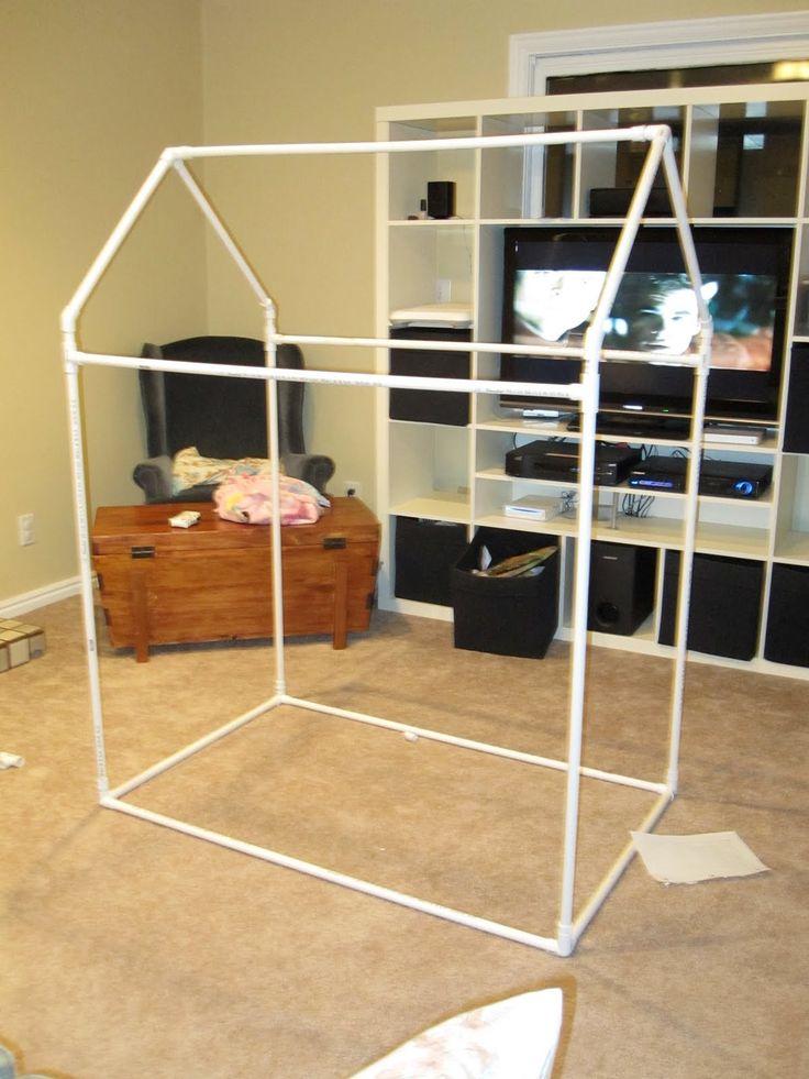 how to make a felt playhouse