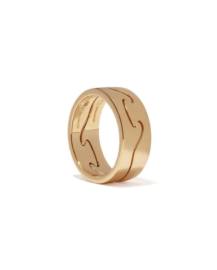 #lovers Rose Gold FUSION Ring £830 Georg Jensen at COUTURELAB