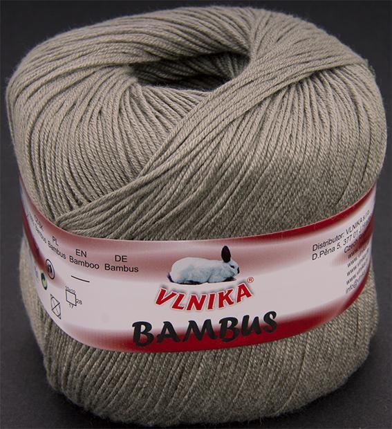 Priadza Bambus | Vlnika - priadze, pletenie, pletacie priadze, návody na pletenie - internetový obchod