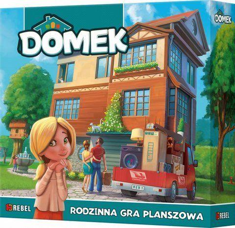 Rebel, gra rodzinna Domek -   Rebel , tylko w empik.com: 79,99 zł. Przeczytaj recenzję Rebel, gra rodzinna Domek. Zamów dostawę do dowolnego salonu i zapłać przy odbiorze!