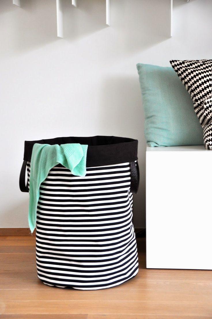 emma en mona: Lenteschoonmaak, deel één: de linnen mand --> ook geschikt voor het opbergen van speelgoed