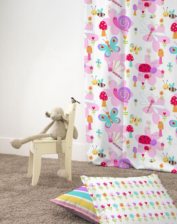 25 beste idee n over kleurrijke gordijnen op pinterest lichte gordijnen meisjes kamer - Gordijnen voor de kinderkamer ...