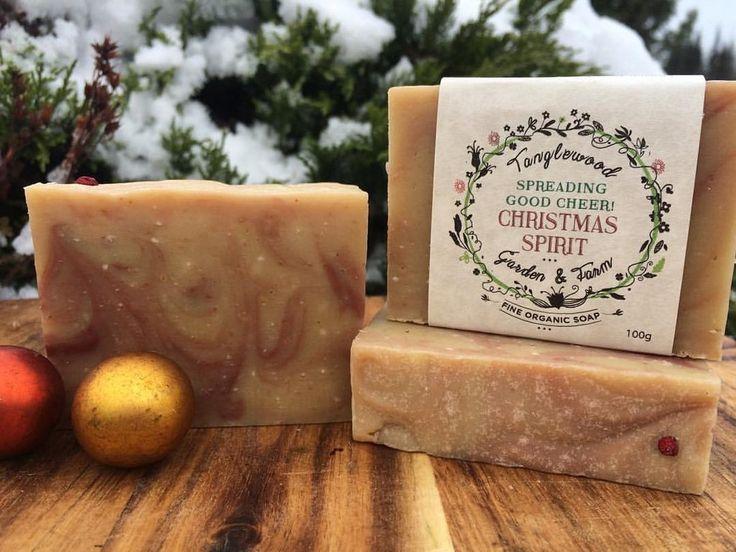 Tanglewood Organic Soap - Christmas Spirit, $9.