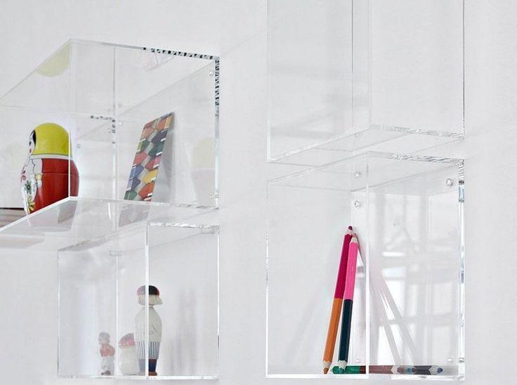 25 best ideas about cube mural on pinterest etagere - Casier rangement mural ...