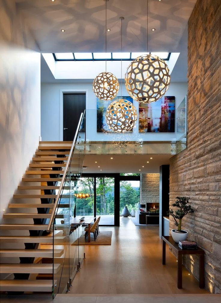 Decor Salteado - Blog de Decoração | Design | Arquitetura | Paisagismo: Hall de Entrada – veja 40 entradas triunfais e dicas de como decorar!                                                                                                                                                      Mais