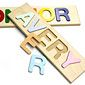 From Mom & Dad: Customized name puzzle