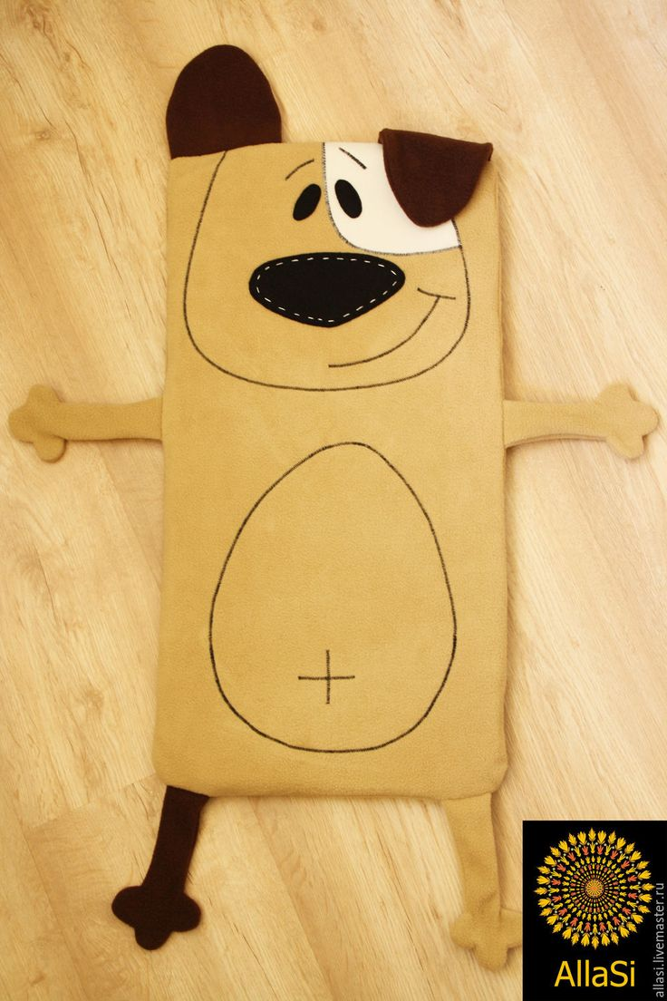 Купить Матрасик Собака Джек Рассел в прогулочную коляску - бежевый, джек рассел терьер, собака