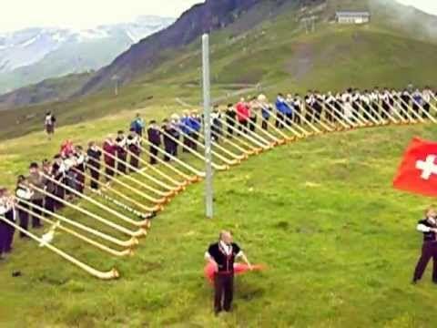 Alphorn Treffen 2010, Grindelwald