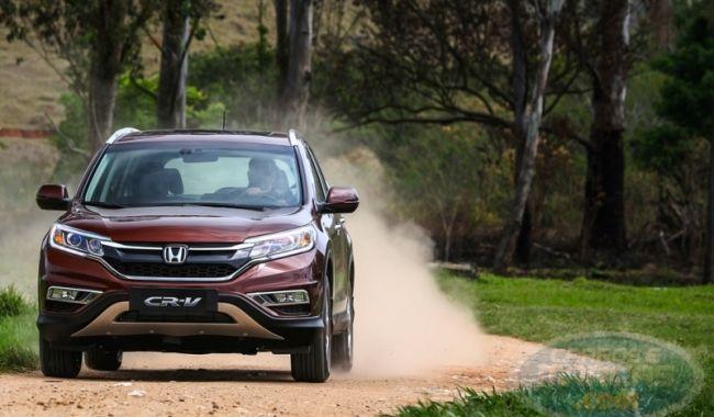 Honda CR-V 2015. Fotos de divulgação.
