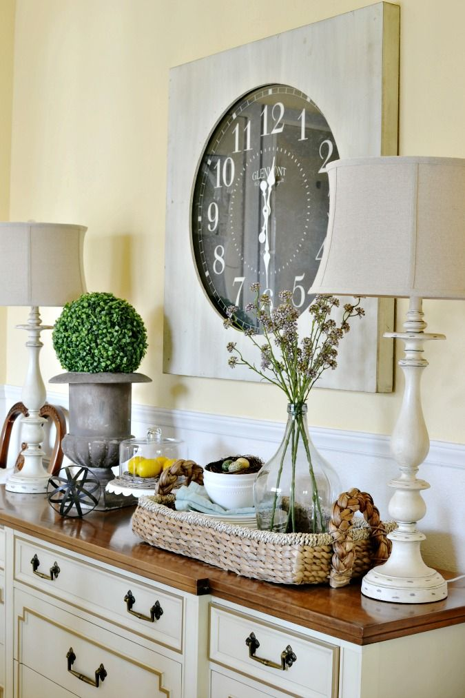 Delightful Decorating Ideas For Dining Room Buffet ...