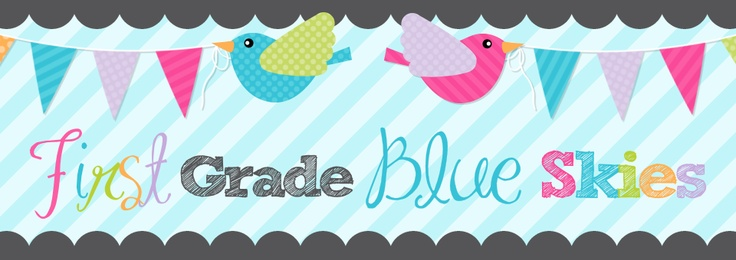 First Grade Blue Skies is an AMAZING blog that is filled with wonderful teaching tips and LOTS of encouragement.