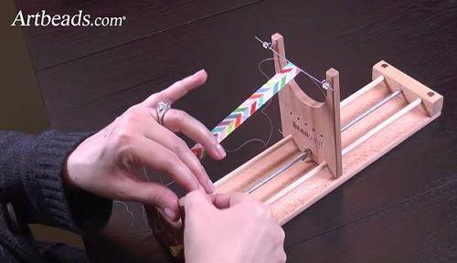 Beautiful Loom Beaded Bracelet Tutorial and the Ricks Beading Loom ~ The Beading Gem's Journal