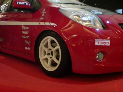 Please post pics of your Yaris with aftermarket rims here - Page 5 - Toyota Yaris Forums - Ultimate Yaris Enthusiast Site