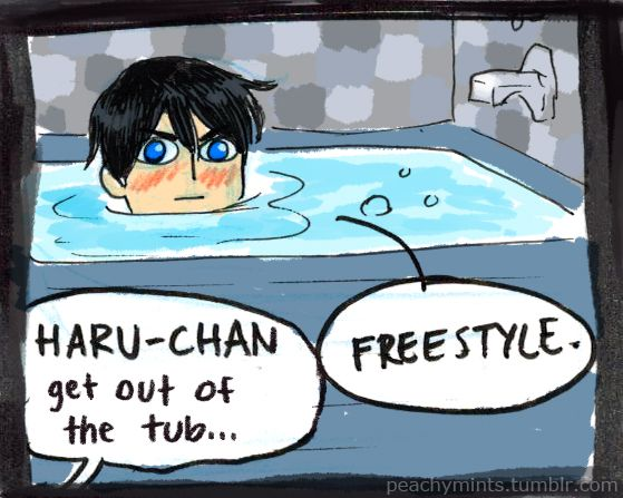 I love my followers more than Haru-chan loves water! ;) Thanks for following me!