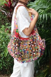 each LALOOM Banjara bag is unique
