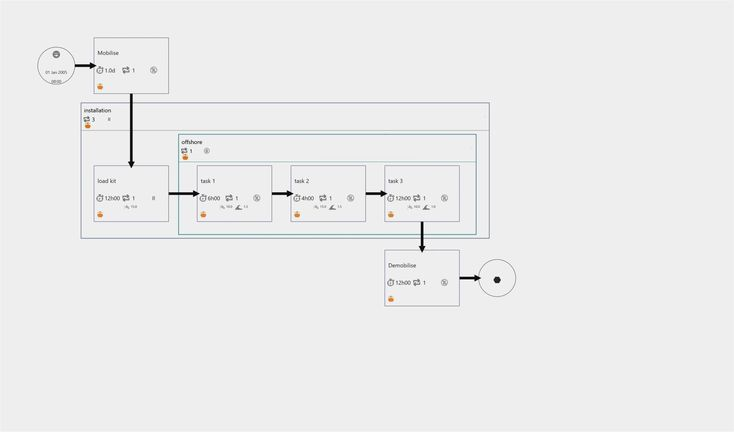 40 Simple Sample Visio Network Diagrams Download Design